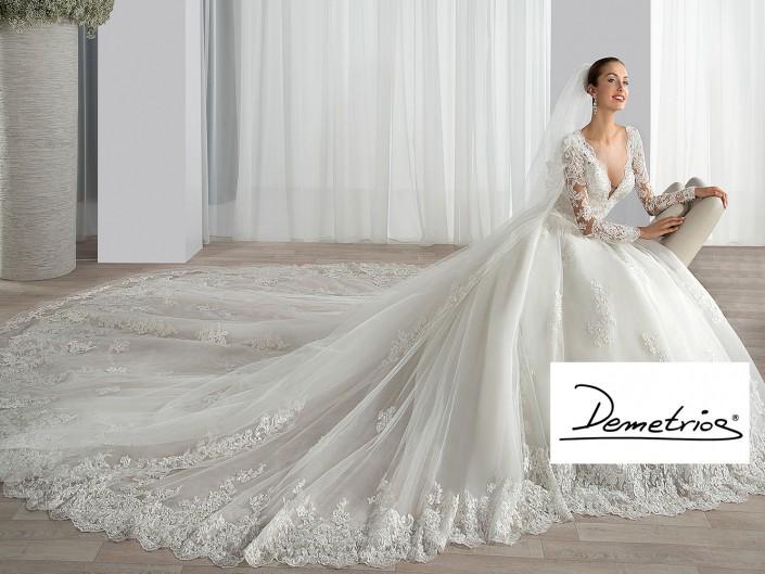 Demetrios Abendkleider Brautkleider Kollektionen Silke Scholz