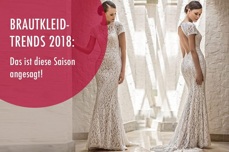 Brautkleid-Trends 2018: Das ist diese Saison angesagt!