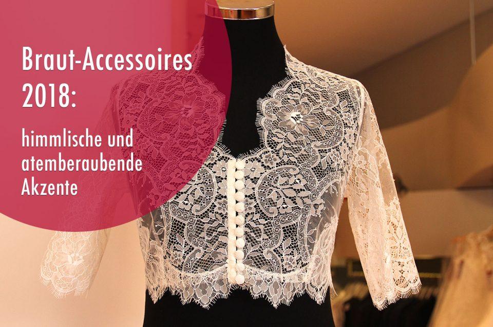 Braut-Accessoires 2018: himmlische und atemberaubende Akzente